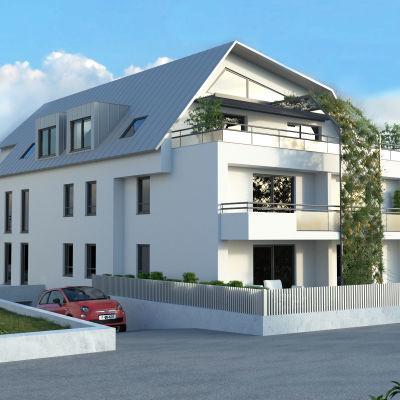 STRASBOURG ROBERTSAU Magnifique attique 5P